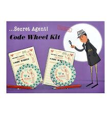 SECRET AGENT CODICE Kit ruote - Top SEGRETO rétro spia detective Set