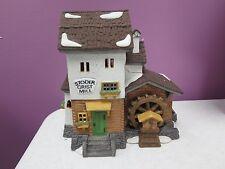 Department 56 - Stoder Grist Mill - Alpine Village #56-59536 Mib