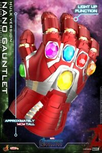 Hot Toys COSB647 Nano Gauntlet Hulk Ver. Avengers Endgame W/LED Figure Mini Doll