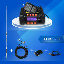Zastone MP300 Mobile Radio 20W Mini Car Transceiver VHF UHF In-Vehicle Whole Set
