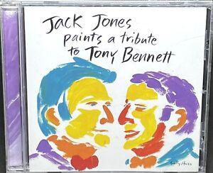 JACK JONES - PAINTS A TRIBUTE TO TONY BENNETT, CD ALBUM, (1999).