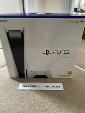 Sony PS5 PlayStation 5 console DISC VERSIONE ✅ in mano ✅ Nuovo di zecca in scatola