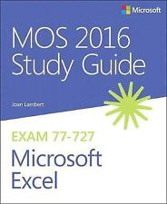 MOS 2016 Study Guide for Microsoft Excel by Joan Lambert (Paperback, 2016)