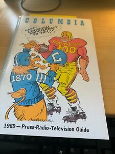 1969 Columbia University Football Media Guide