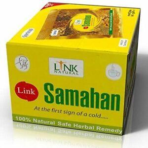 100 SAMAHAN Ayurvedic Herbal Tea Natural Drink for Cough & Cold