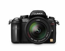 Panasonic Lumix DMC-GH2 16.05 MP Digital Camera w/ 14-140mm HD Hybrid Lens (BLK)