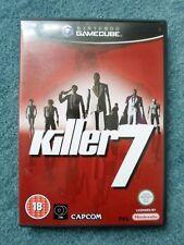 Nintendo Gamecube KILLER 7 Capcom Video Game
