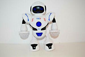 HT-01 Dazzling Music Robot Shiny Electronic Walking Dancing Toy US SELLER
