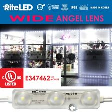 Wide angle 25Ft Store Front Window LED Light Kit 50pcs White NC LED Outdoor