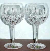 Waterford Lismore Balloon Wine Glasses Set of 2 #156516 New In Box