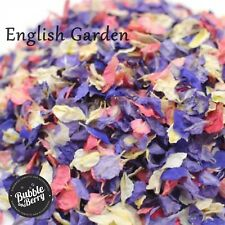 1200 + Delphinium confetti Petals biodegradable Natural English Garde colour mix