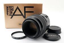 Nikon Micro-NIKKOR 105mm f/2.8 AF Prime Lens w/ Box [Exc From JAPAN 640685