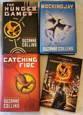 HUNGER GAMES TRILOGY LOT ALL 1st Ed HC w/ DJ + The World of Hunger Games (NEW)