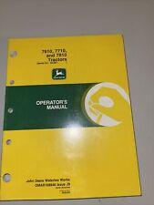 John Deere 7610 7710 7810 Tractor Operator's Manual Omar168946 J9 Serial 30,001-