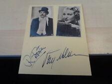 Brigitte Helm  Rudolf Forster   Briefkarte   mit org.Autogramm von 1932