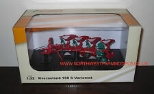 UNIVERSAL HOBBIES 4126 1/32 SCALE KVERNELAND 150 S VARIOMAT 4 FURROW PLOUGH