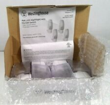 New Westinghouse 4 Pack LED Nightlight with Manual On/Off Switch Issues with Box