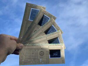 LOT OF 20 IBM 80-column Punch Cards Slide Microfiche Mainframe Computer
