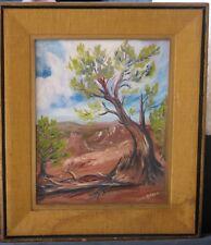 Utah Oil-Bryce Canyon-1950's-By Leona Andrew-Lovely Regionalist Work
