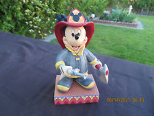 Jim Shore Disney To The Rescue Heroic Fireman Mickey Mouse Figurine 4049632