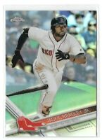 Jackie Bradley Jr. 2017 Topps Chrome Refractor #64 Boston Red Sox Parallel Card