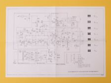 "Vintage Microbee (Version II) Computer 12"" Monochrome Monitor Circuit Diagram"
