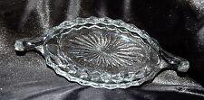 Fostoria American Elegant Glass Relish Boat