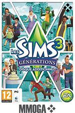 Les Sims 3 Générations d'extension Generations Addon PC EA Origin Code - EU & FR