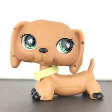 Authentic Littlest Petshop Monopoly Dog Dachshund / Chien Teckel LPS Pet Shop