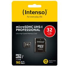 Intenso Micro SD Karte 32 GB UHS-I Professional Micro SD Speicherkarte microSDHC
