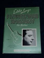 Eddie Lang's Fingerboard Harmony for Guitar 1936 Robbins Music