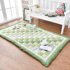 Korean Thick Plush Home Carpet Bedroom Rest Baby Crawling Floor Mat Tatami Rug