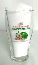 New Belgium Brewing Heavy Melon Watermelon Lime Ale Pint Glass