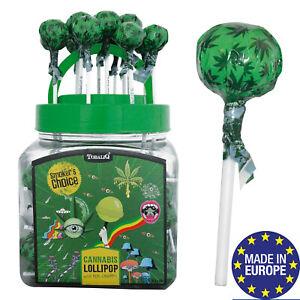Hanf Lollies Lollipop Hemp Lolly 10 o. 20 Stck Cannabis Lutscher MADE IN EUROPE