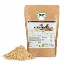 Bio Maca Pulver, von EXVital, aus Peru. Geprüfte Qualität mit Analysezertifikat