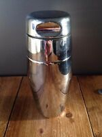 RETRO 50'S ALFRA ALESSI COCKTAIL SHAKER 18-10 STAINLESS STEEL ITALY MOD DEP BAR