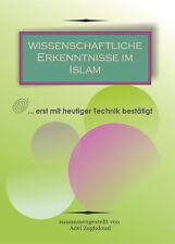 Wissenschaftliche Erkenntnisse im Koran  Islam Kuran Takschita Kaftan Abaya