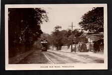 Pendleton, Salford - Eccles Old Road - real photographic postcard