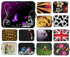 """10"""" 12"""" 13"""" 14"""" 15"""" 17"""" Netbook Notebook Laptop Sleeve Soft Case Bag Cover Pouch"""