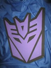 TRANSFORMERS Decepticon UNIVERSAL STUDIOS Exclusive Foam Shield / Display