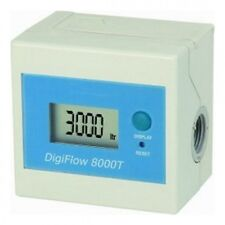 "Savant Electronics Digiflow 8000T Water Flow Meter With 3/8"" Female Npt Connect"