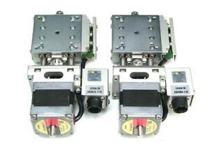 KOHZU SA05B-RB 50x50 Motorized Goniometer Stage & VEXTA PX534MH-B stepping Motor
