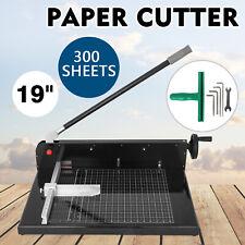 New&Improved 9770ez 48cm Guillotine Stack Paper Cutter Machine