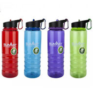 New Flip Straw Tritan Drinks Sport Hydration Water Bottle Cycling Hiking Camping