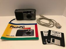 Vintage - Epson PhotoPc 640X480 37mm Digital Camera (Manuel, Cord & Software)