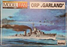 Kartonmodellbau Schiff  Zerstörer ORP Garland - ModelFan 002 - 1:100