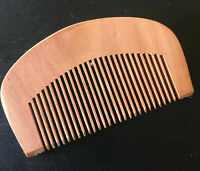 Handcrafted Peachwood Beard and Moustache Combs