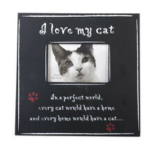 I LOVE MY CAT FRAME 4X6