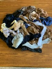 Lot of 15  Women's Used Sheer Nylon Hosiery Small Sizes Assorted Brands & Colors