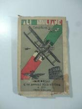Carlo Saliva, Ali italiane. In Vercelli nel XVI annuale della vittoria, 1934